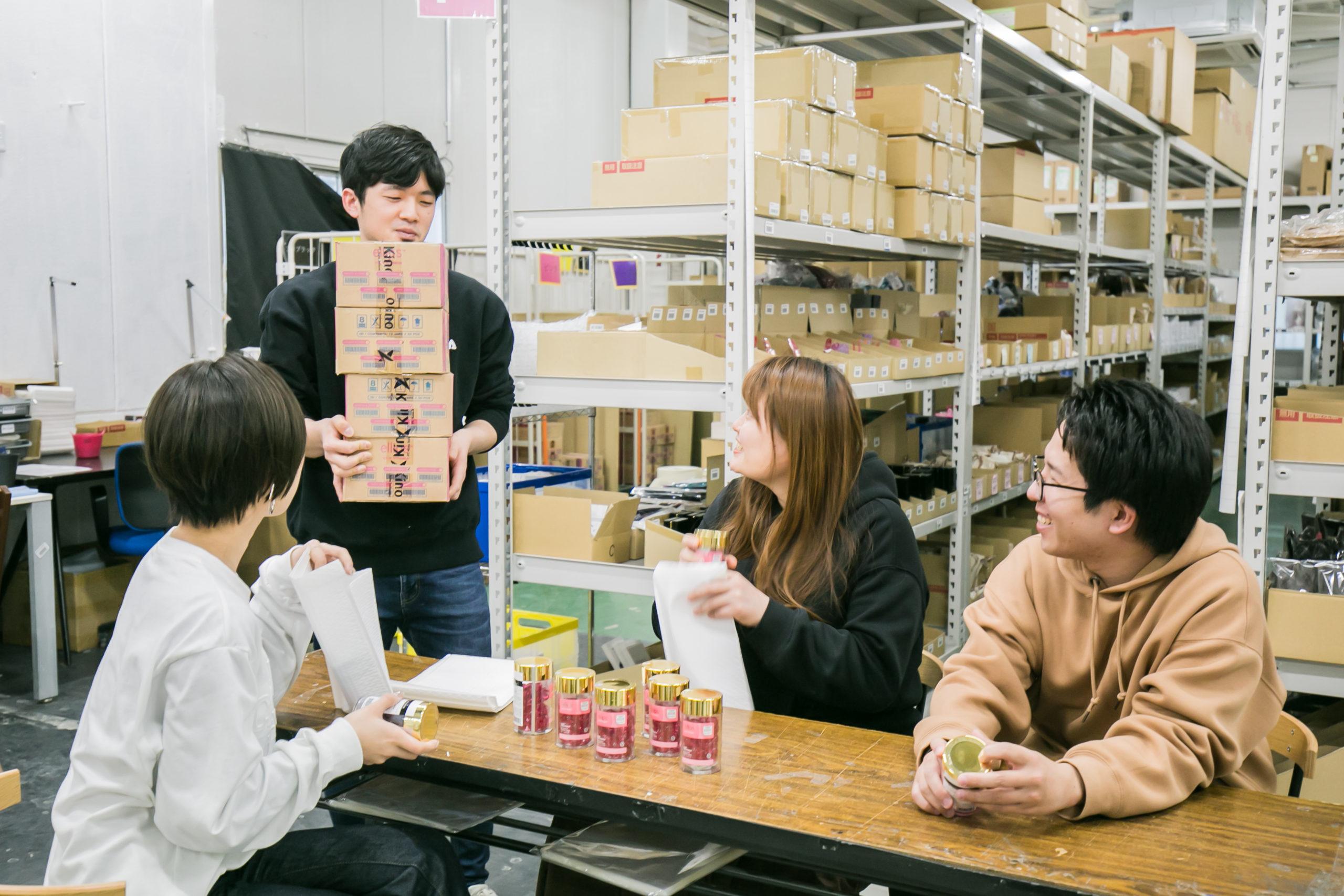 注文・商品管理の仕事